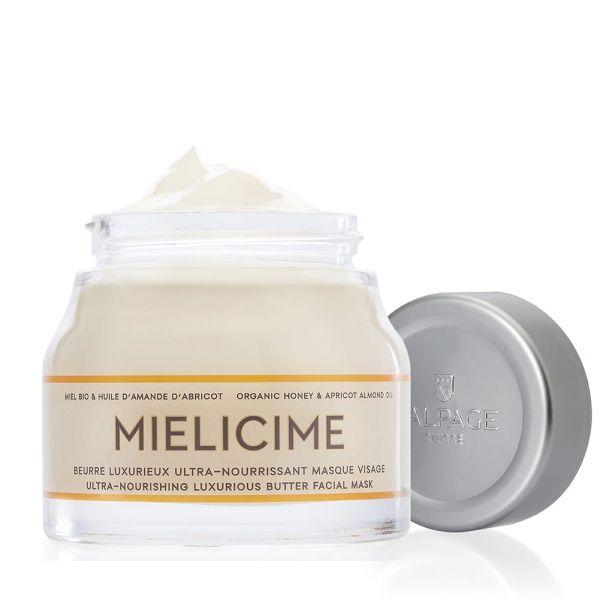 Beurre Luxurieux Ultra-Nourrissant Masque Visage Mielicime| Masque Nourrissant Visage Réparateur Miel Bio Amande Abricot | L'ALPAGE Suisse