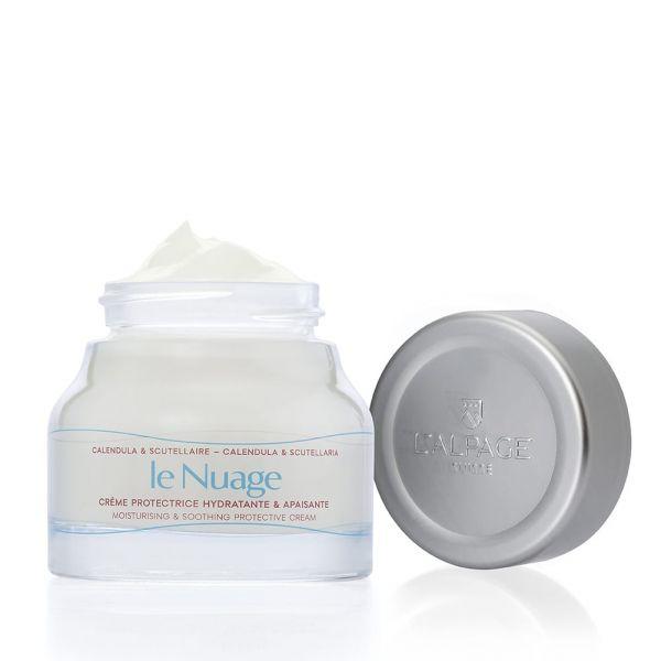 Crème Protectrice Hydratante & Apaisante Le Nuage 50ml | Hydratant Apaisant Calmant Peaux Sensible Réactive | L'ALPAGE Suisse