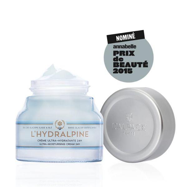 Crème Ultra-Hydratante 24H Visage L'Hydralpine 50ml | Hydratation | L'ALPAGE Suisse