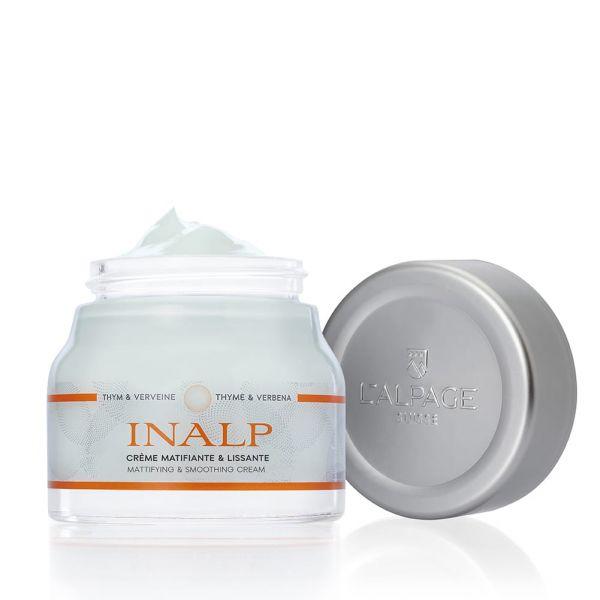 Crème Matifiant et Lissante Inalp 50ml | Matifiant Lissant Perfecteur Réducteur de Pores | L'ALPAGE Suisse