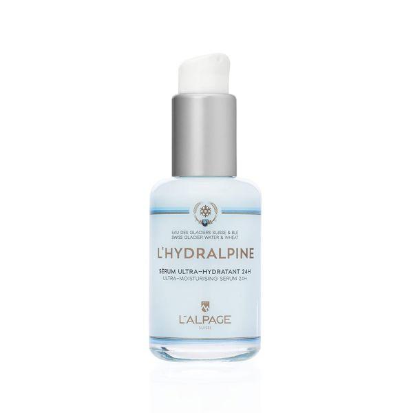 Sérum Ultra-Hydratant 24h L'Hydralpine Visage 30ml   Hydratant 24H Teint Affiné Eau des Glaciers Suisse Blé Impératoire Bio   L'ALPAGE Suisse